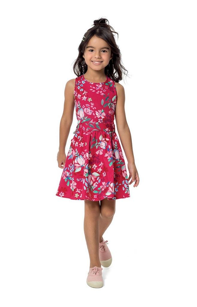 d1f9cadf3 Vestido floral infantil Malwee Kids - Loja Love Baby