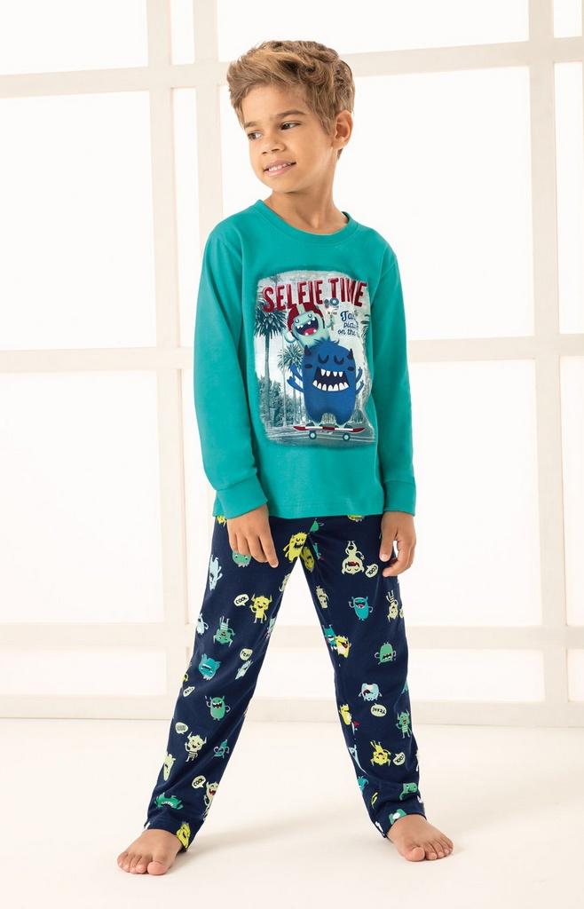 6261bbc36 Pijama masculino infantil Malwee Liberta - Loja Love Baby